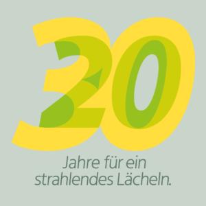 logo 30 jahre kieferorthopädie hannover