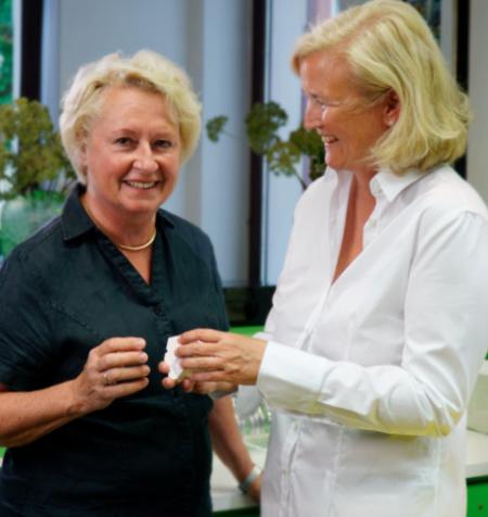 Foto Fachzahnärztinnen Dr. Pfleiderer und Sabine Steding